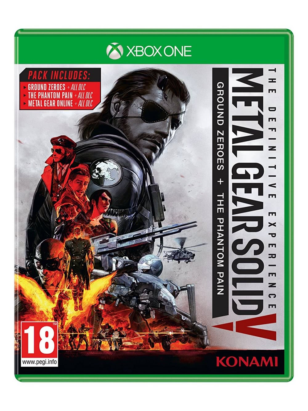 Metal Gear Solid V Definitive Experience (Xbox One, русские субтитры)