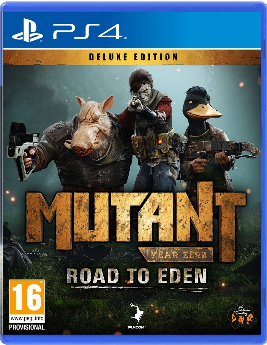 Mutant Year Zero: Road to Eden Deluxe Edition (PS4, русские субтитры)
