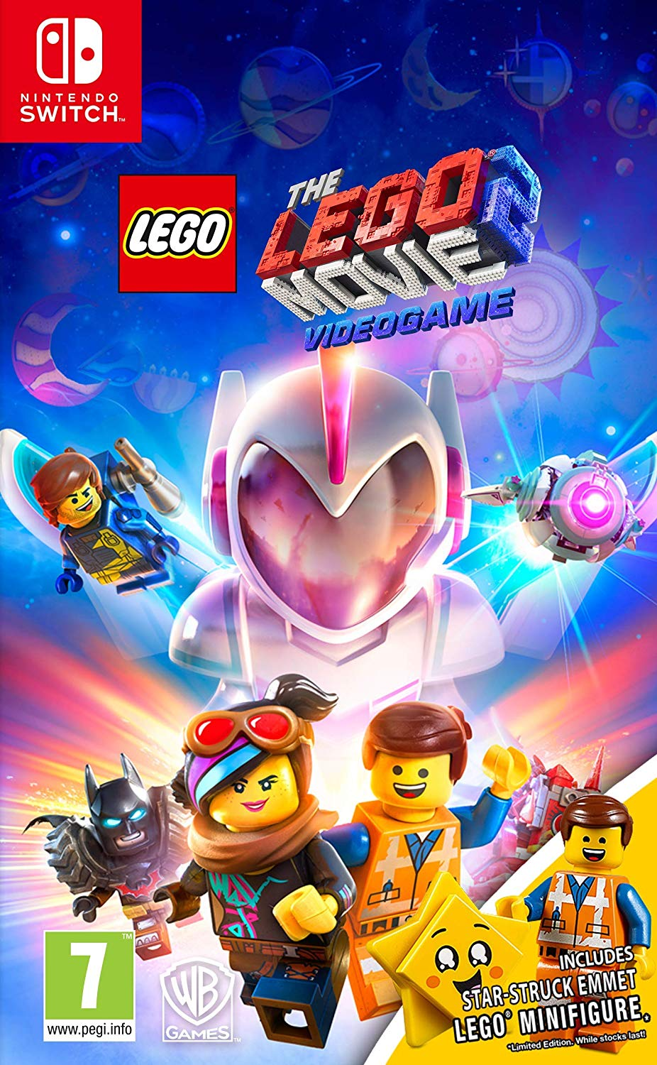 LEGO Movie 2 The Videogame Toy Edition (Switch, русские субтитры)