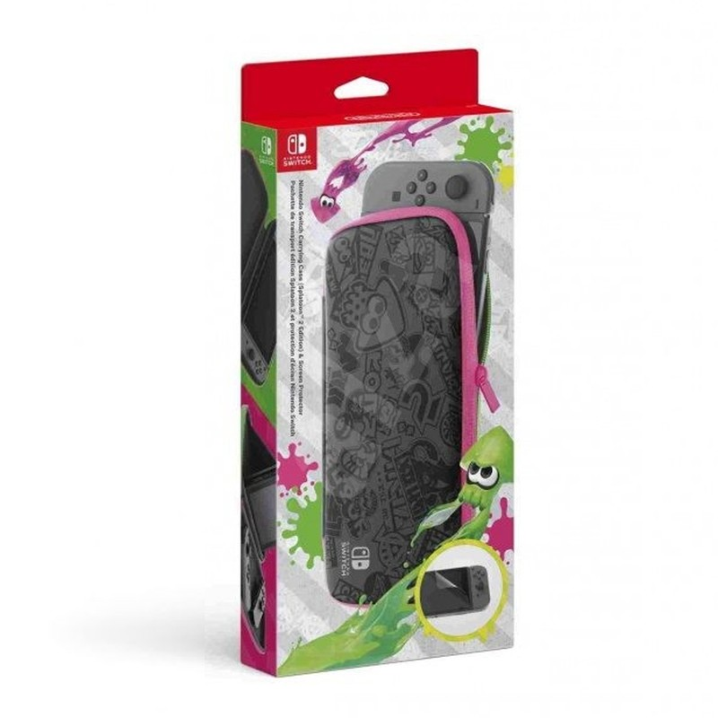 ЧЕХОЛ SPLATOON 2 SCREEN PROTECTOR NINTENDO SWITCH