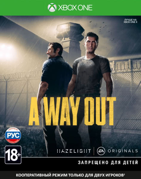 A Way Out (Xbox One, русские субтитры)
