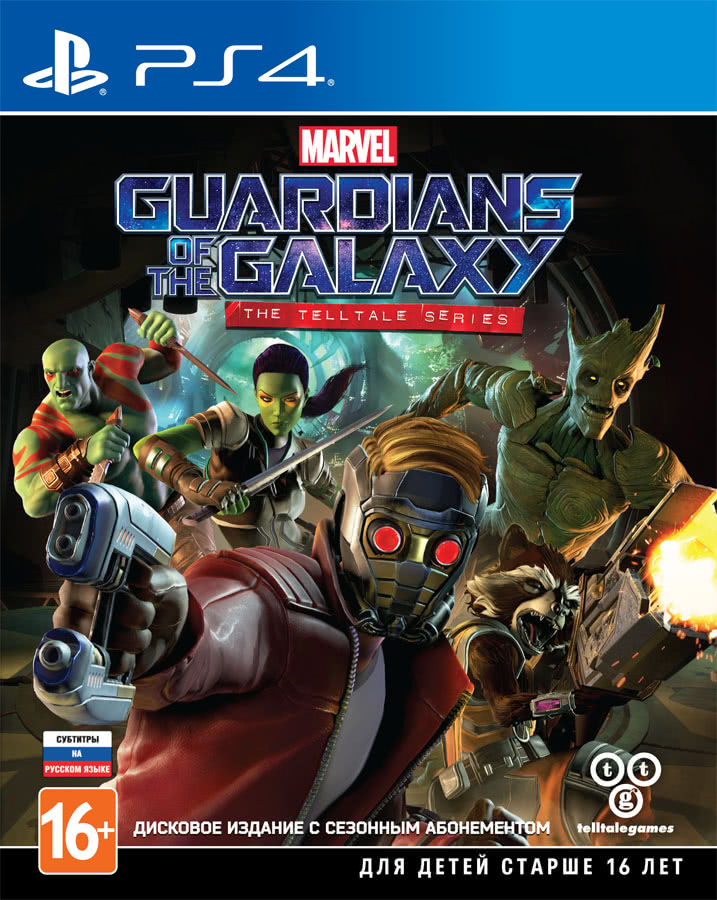 Telltale's Guardians of the Galaxy (PS4)