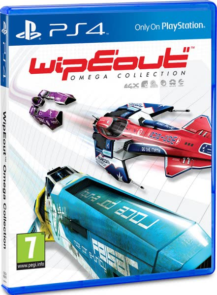 WipEout Omega Collection (PS4, русские субтитры)
