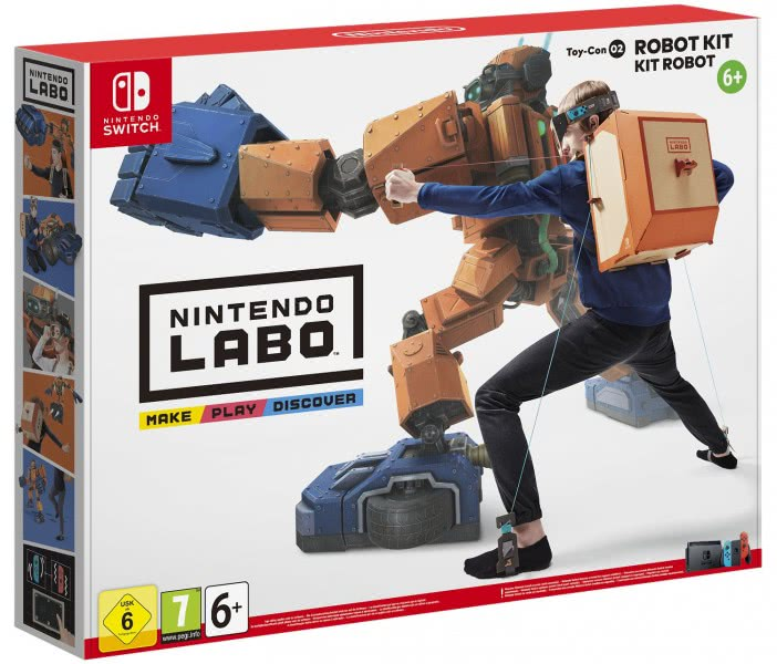 Nintendo LABO: Набор Robot Kit (Switch)