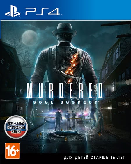 Murdered: Soul Suspect (PS4, русская версия)