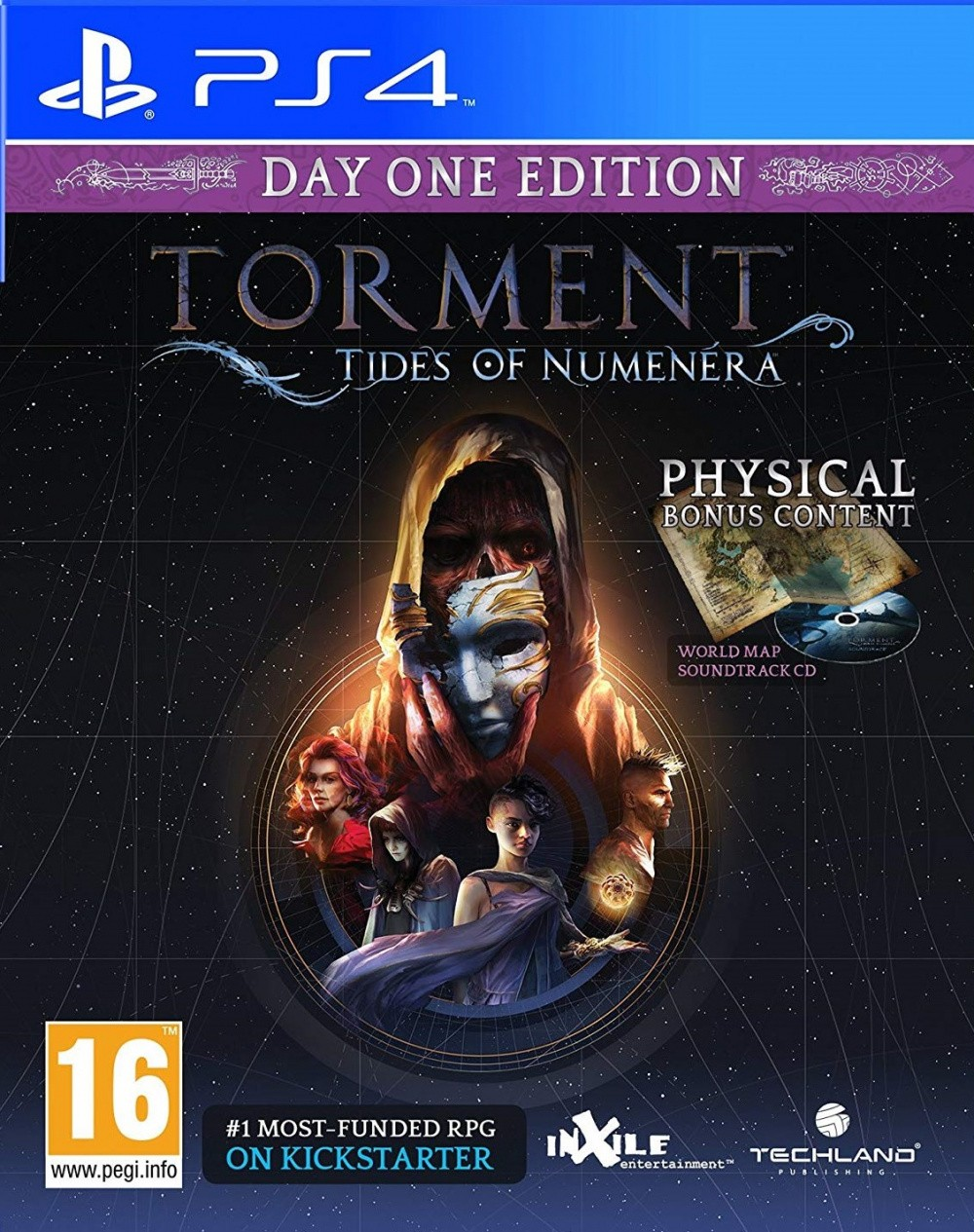 Torment: Tides of Numenera Day 1 Edition (PS4, русские субтитры)