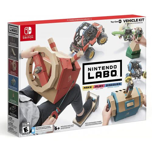Nintendo LABO:  Набор Vehicle Kit (Switch)