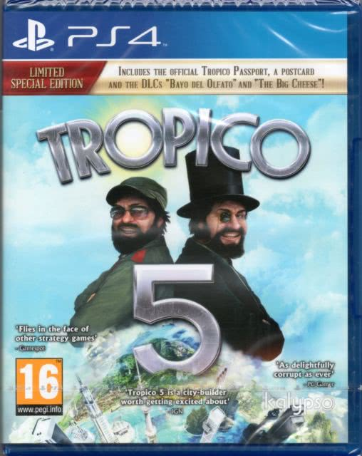 Tropico 5 Limited Special Edition (PS4)