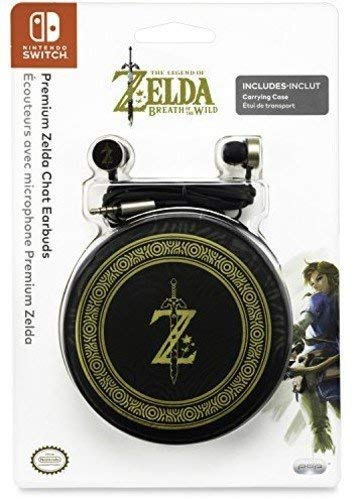 PDP Nintendo Switch Premium Zelda Breath of the Wild Chat Earbuds