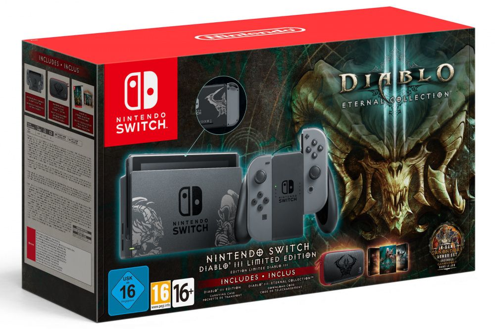 NINTENDO SWITCH DIABLO EDITION