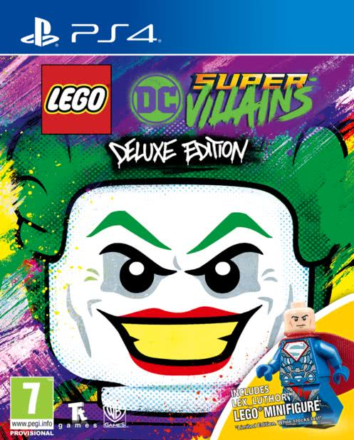 LEGO DC Super Villains Minifigure Edition (PS4, русские субтитры)