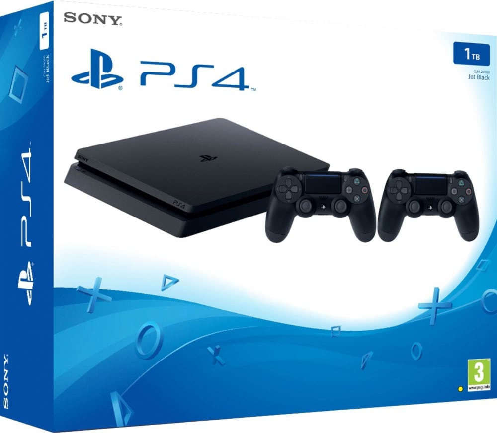 PlayStation 4 Slim 1TB + DualShock V2