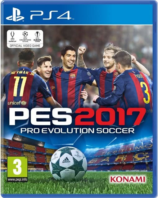 Pro Evolution Soccer (PES) 2017 (PS4)