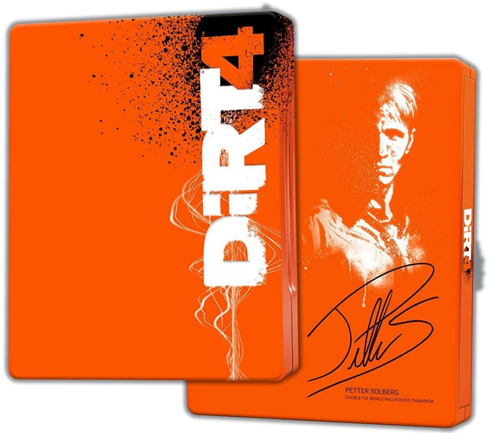 Dirt 4 Sleelbook Edition (PS4)