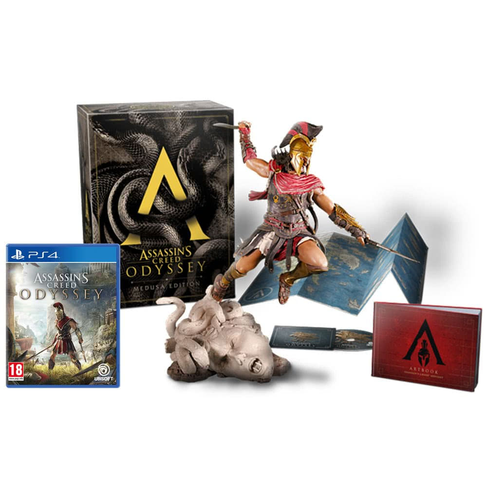 Assassin's Creed: Одиссея. Medusa Edition [PS4]