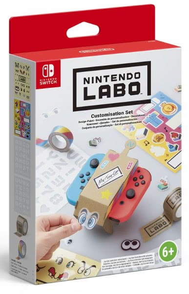 Nintendo LABO: Набор Customization Set (Switch)