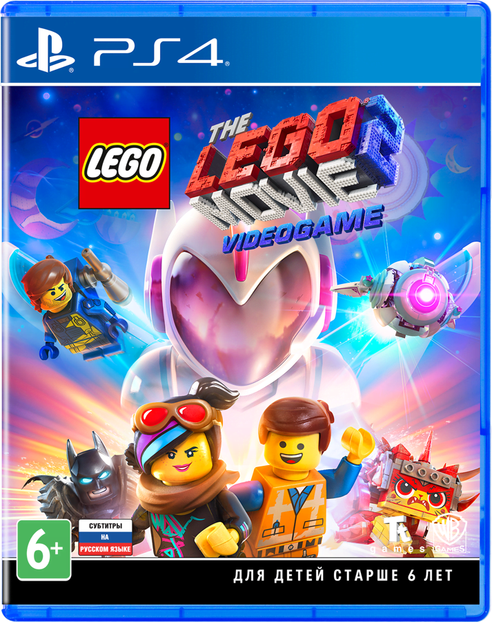 THE LEGO Movie 2 Videogame (PS4, русские субтитры)