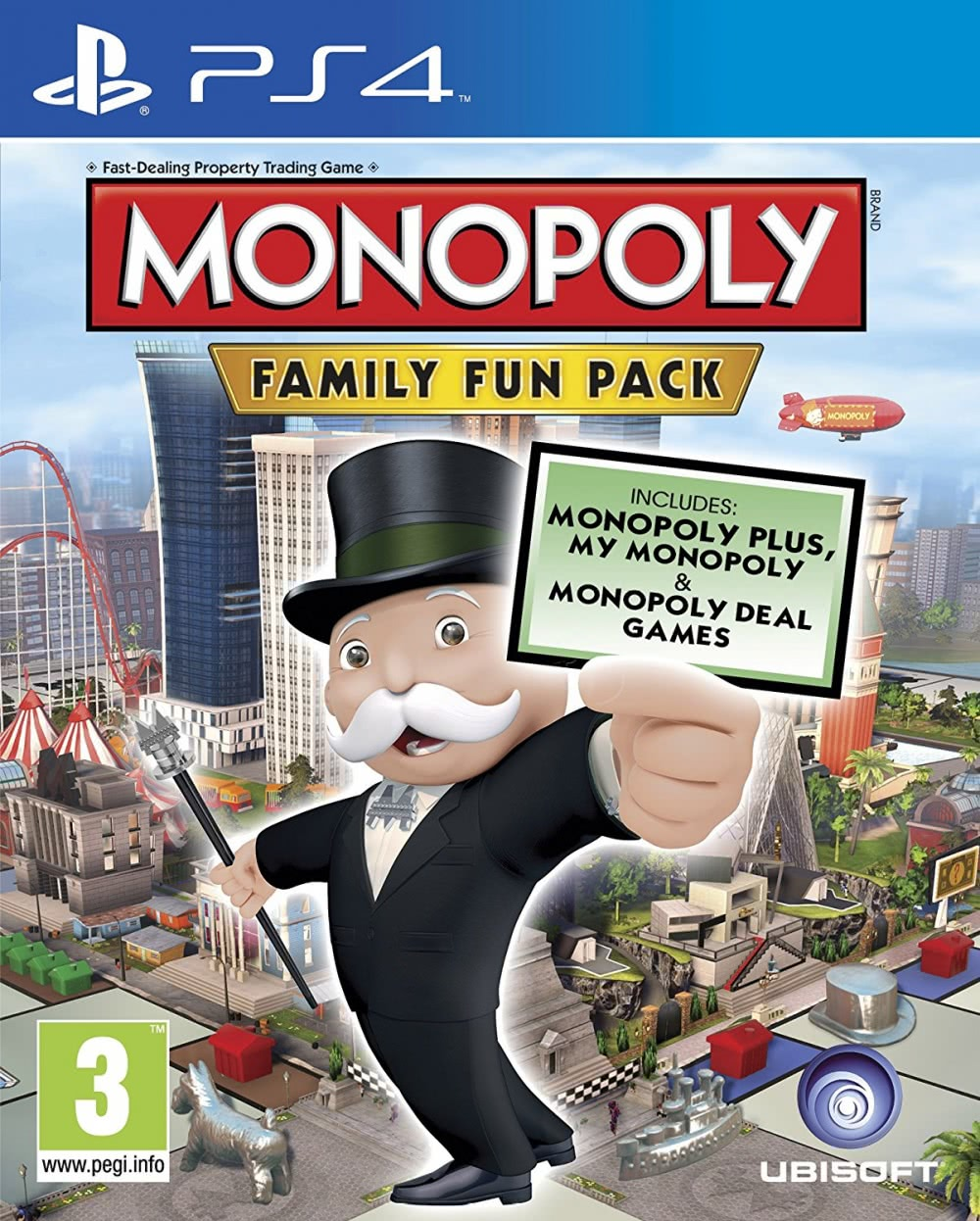Monopoly Family Fun Pack (PS4, русская версия)