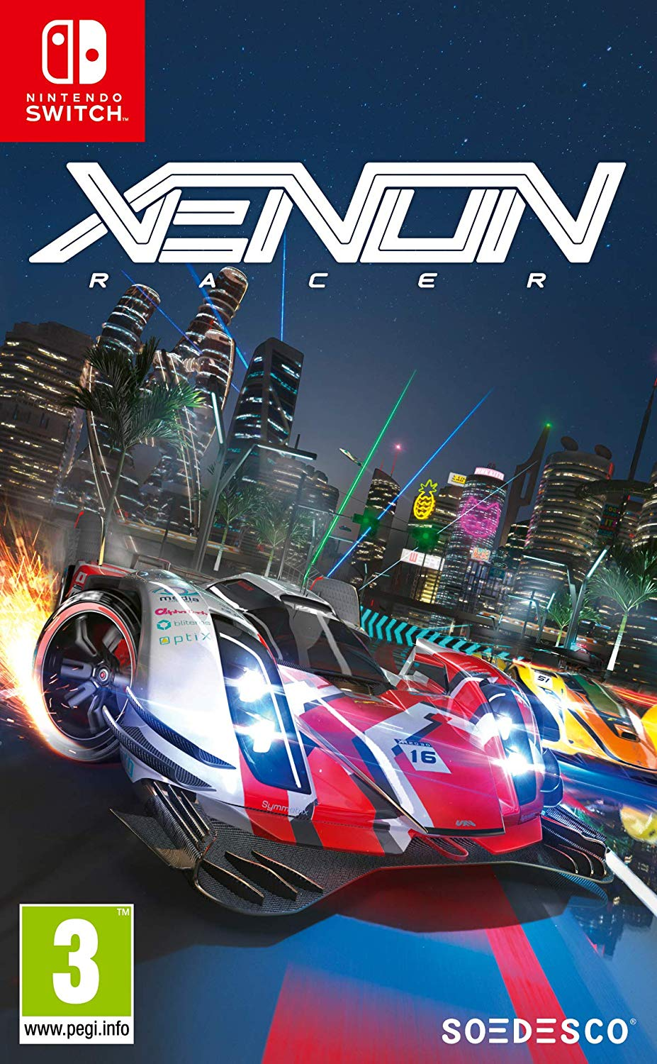 Xenon Racer (Switch, русская версия)