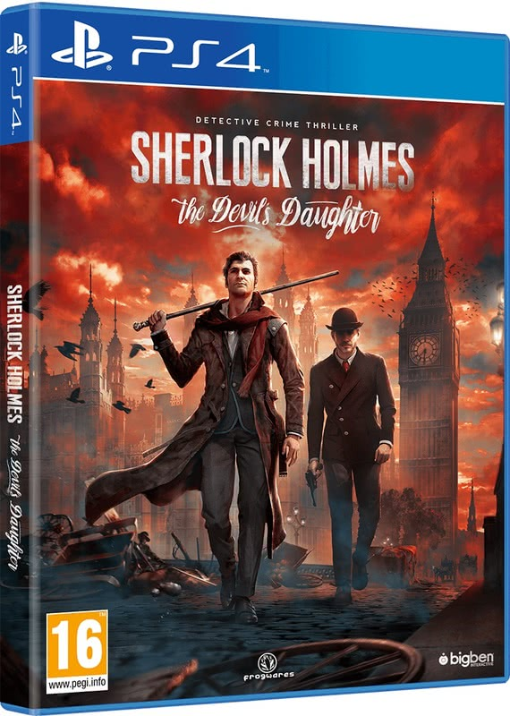 Sherlock Holmes: The Devils Daughter (PS4, русские субтитры)