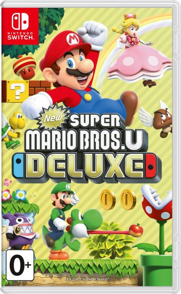 New Super Mario Bros U Deluxe (Switch, русская версия)