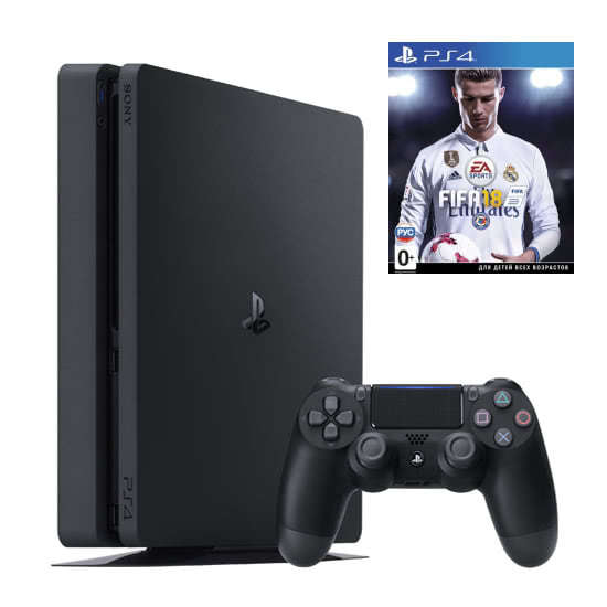 PlayStation 4 Slim 1TB+Fifa 18