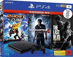 PlayStation 4 Slim 1TB NEW+3 игры