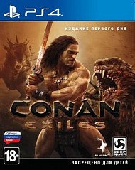 Conan Exiles Day One Edition (PS4, русские субтитры)