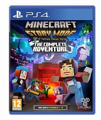 Minecraft Story Mode Complete Adventure (PS4, русские субтитры)