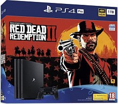 PlayStation Red Dead Redemption 2 PS4 Pro Bundle(CUH-7216B)