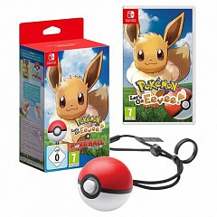 Pokemon Let's Go Eevee Poketball Plus (Switch)