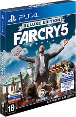 Far Cry 5 Deluxe Edition (PS4) русская версия