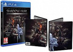 Middle-earth: Shadow of War Steelbook Edition (PS4, русские субтитры)