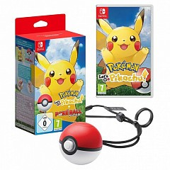 Pokemon Let's Go Pikachu Poketball Plus (Switch)