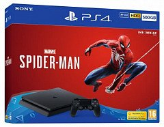 PlayStation 4 Slim 500GB+Marvel Spider-Man