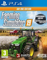 Farming Simulator 19 Day One Edition (PS4, русские субтитры)