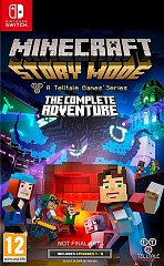Minecraft Story Mode: The Complete Adventure (Switch, русские субтитры)