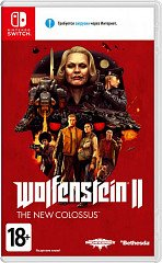 Wolfenstein II The New Colossus (Switch, русская версия)