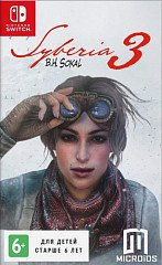Syberia 3 (Switch, русская версия)